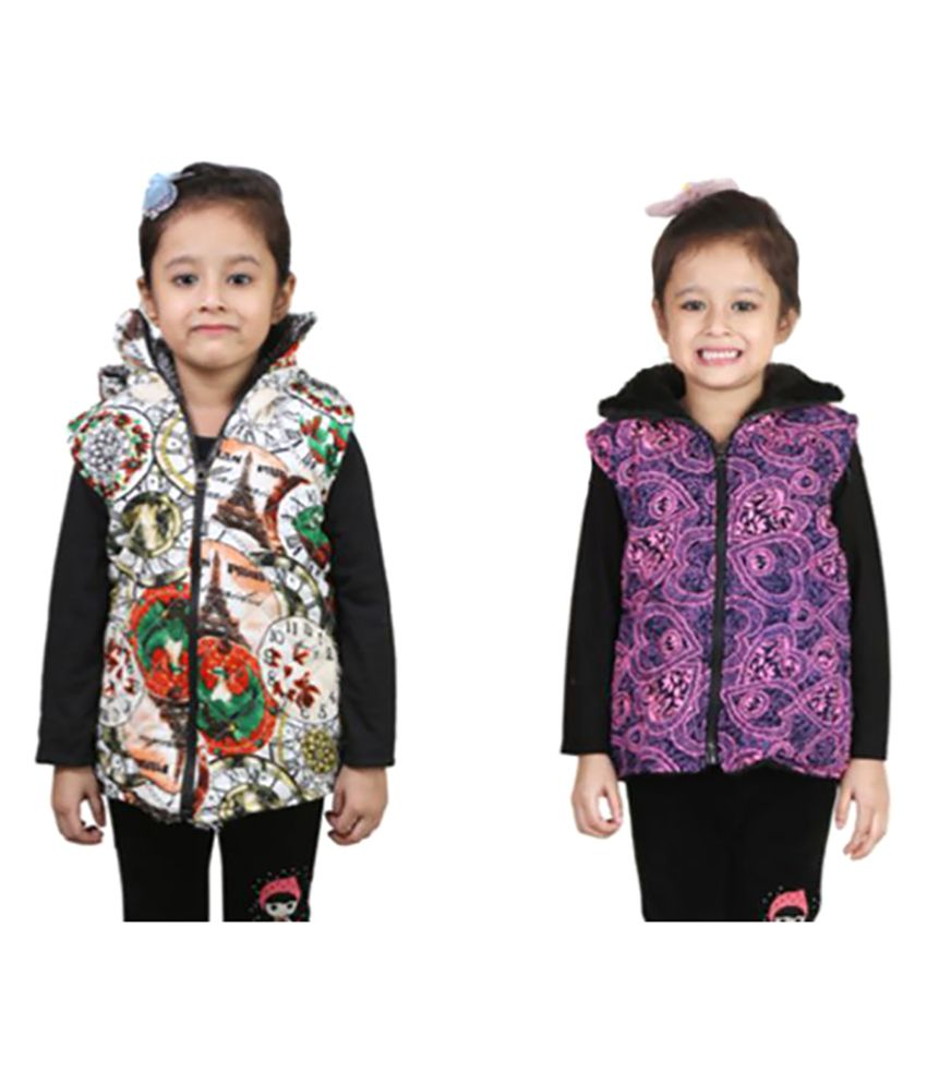 Crazies Multicolour Nylon Jacket