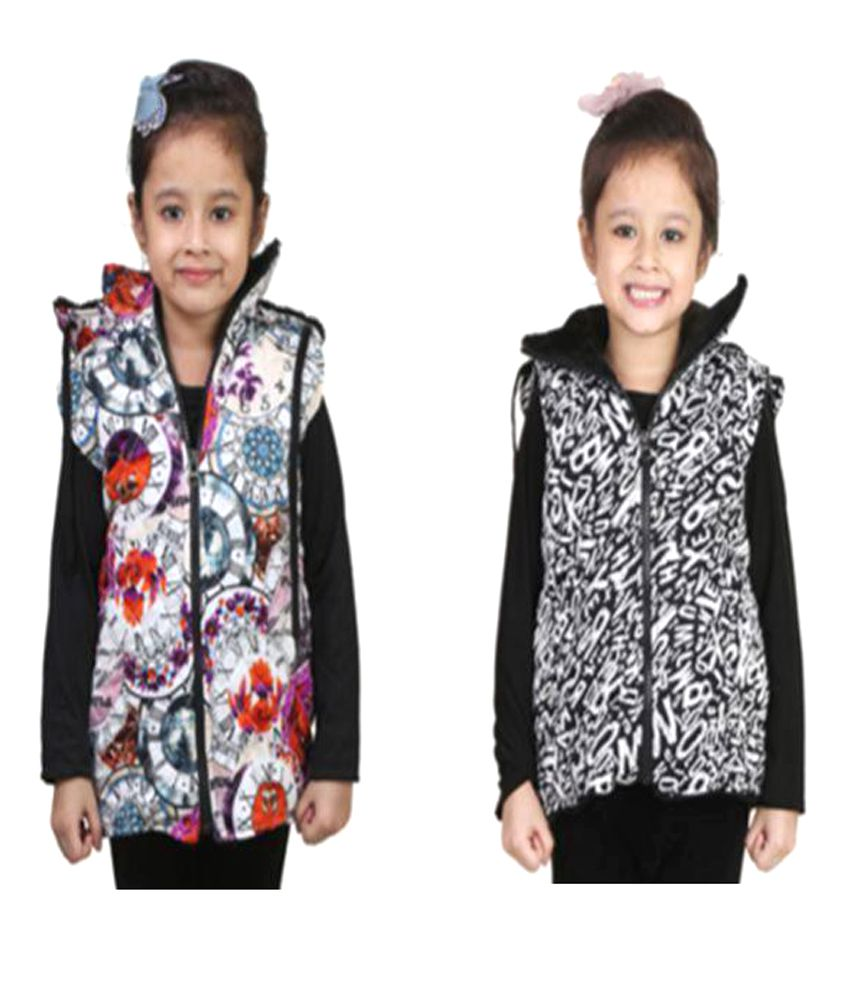 Crazies Multicolour Jacket - Pack of 2