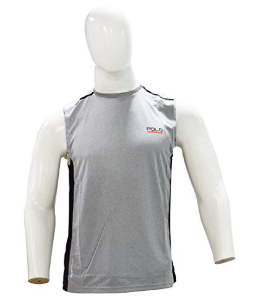 Ralph Lauren Polo Sport Performance Jersey Tank T-Shirt - Andever Heather