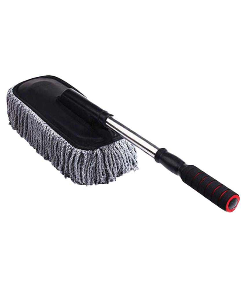 autotrump grey car retractable dust wax brush duster mop buy autotrump grey car retractable. Black Bedroom Furniture Sets. Home Design Ideas