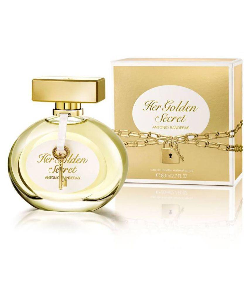 Antonio Banderas Her Golden Secret Eau De Toilette 80 Ml For