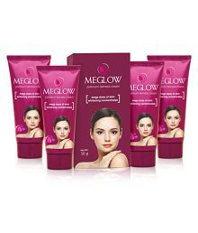 Meglow Fairness Cream For Women [Pack Of 4] 50 Gm Each Day Cream 200 Gm Pack Of 4