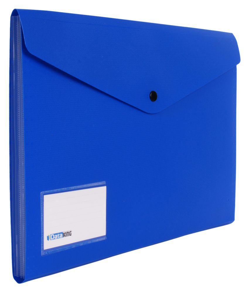 Dataking Blue Expandable Files - Set of 4