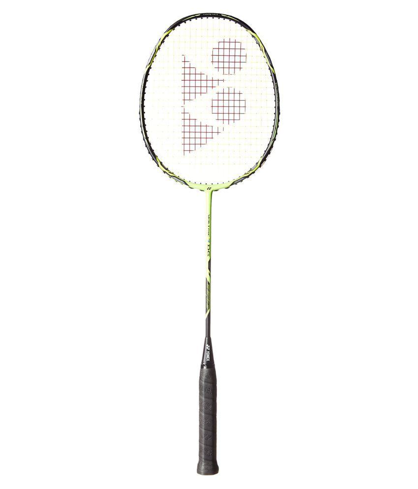 Yonex Voltric 7 DG Badminton Racket Black/Neon Lime: Buy ...