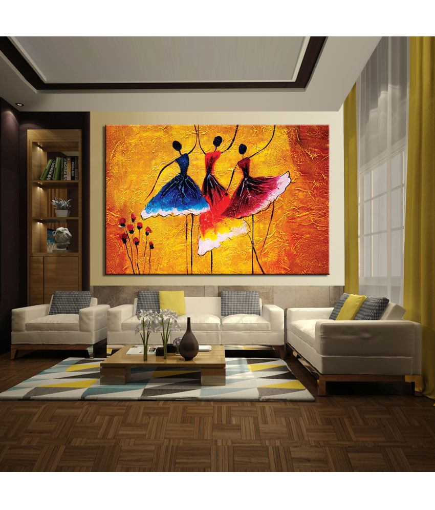 Mpro-Tech Canvas Painting Without Frame Single Piece