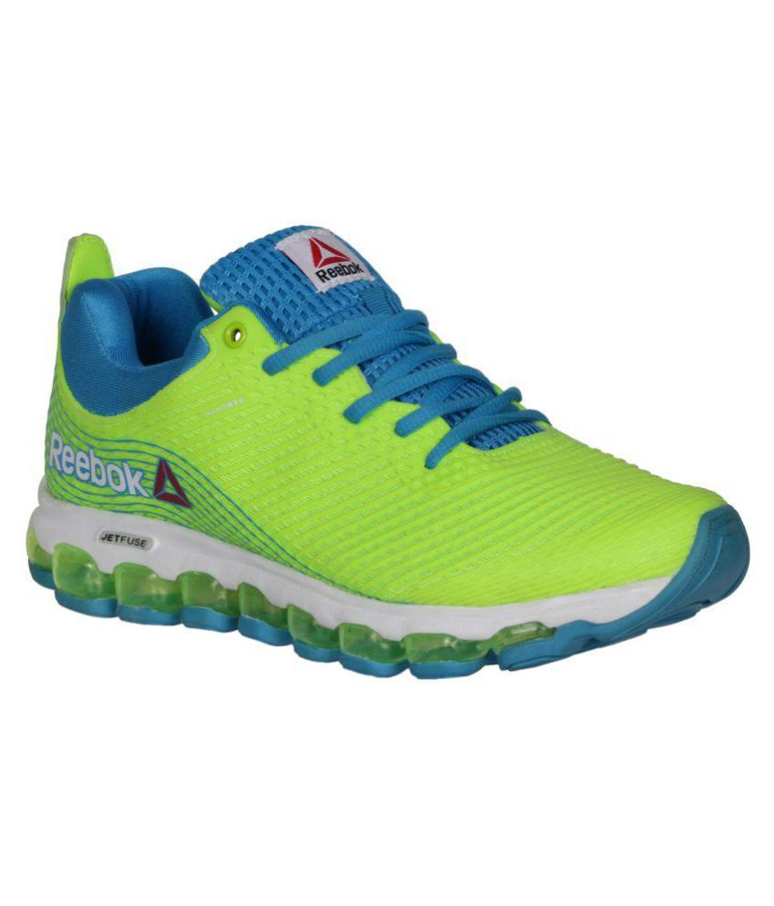 4f30d2c1e886 Reebok Jet Fuse Run Green Running Shoes - Buy Reebok Jet Fuse Run Green  Running Shoes Online at Best Prices in India on Snapdeal