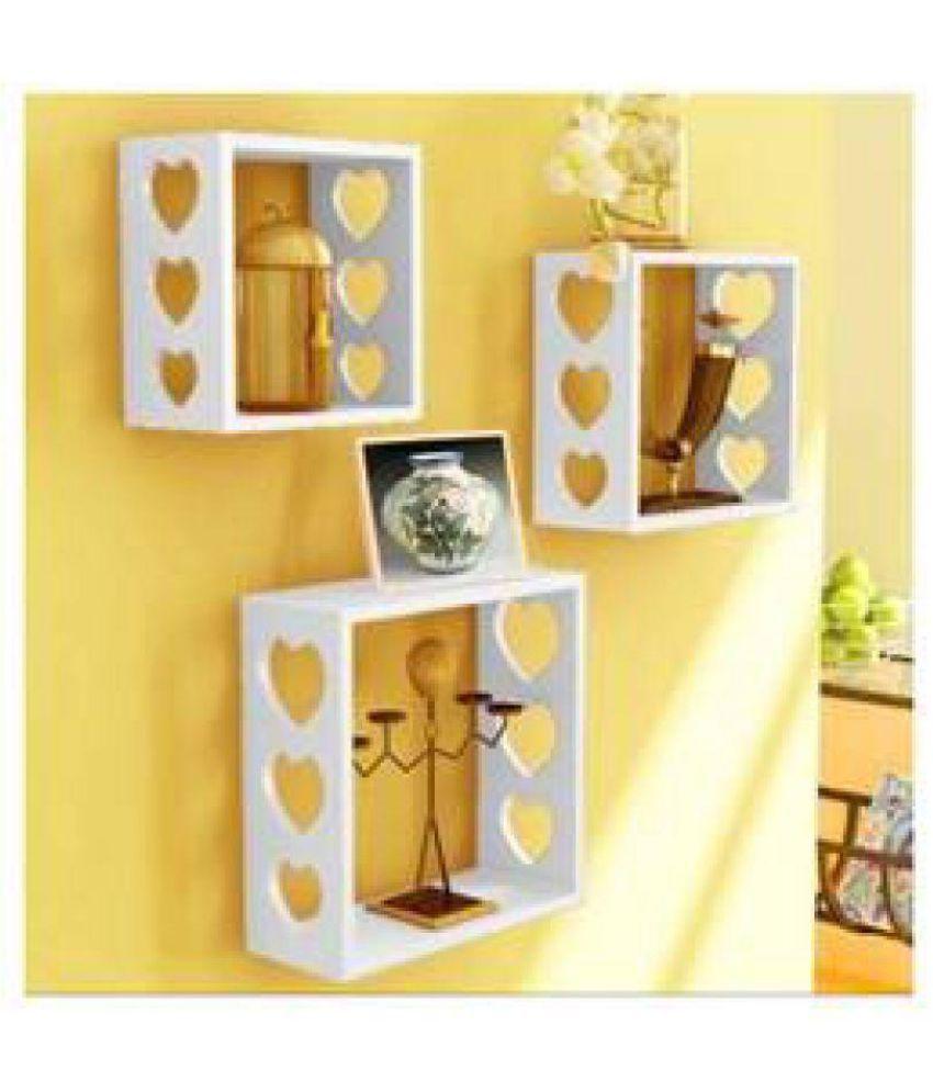 VAS Collection Home Wood Floating Shelf/ Wall Shelf / Book Shelf ...