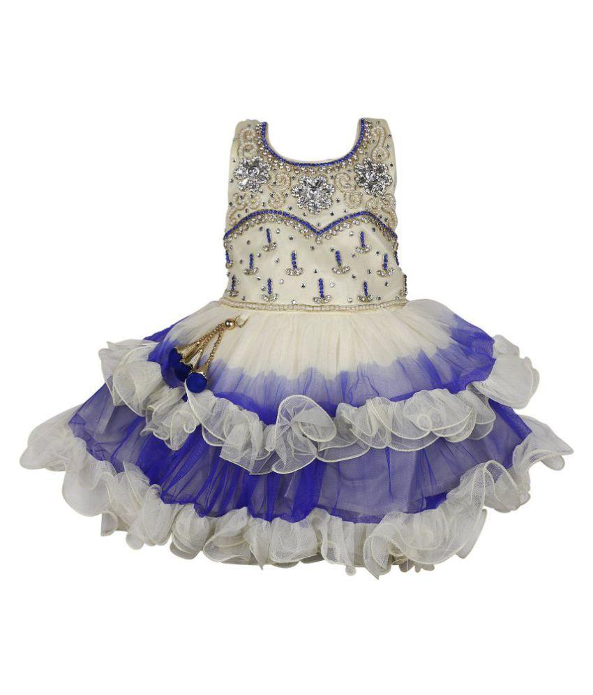 c636aa9d48c2f Wish Karo Baby Girls Party wear frock dress DN 2138 - Buy Wish Karo ...
