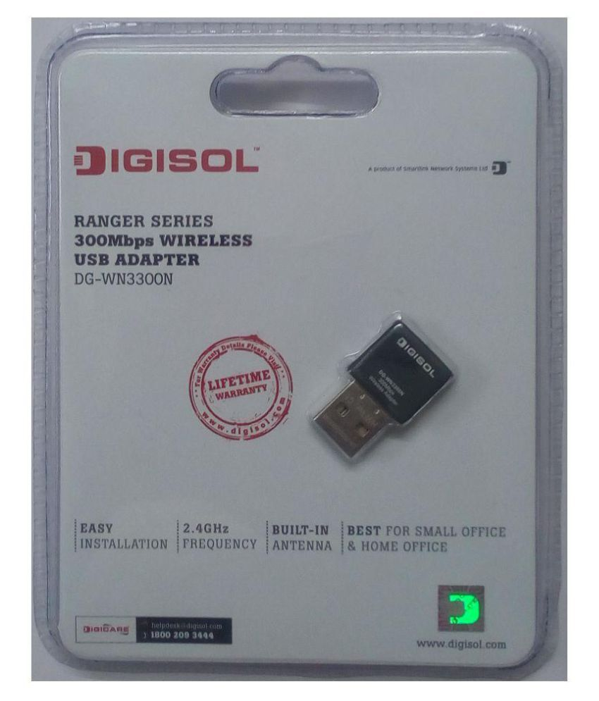 Digisol Wifi Receiver mbps 300 USB