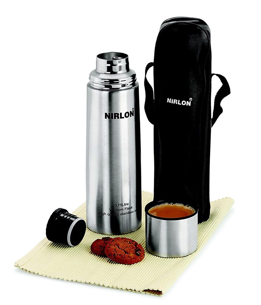 Nirlon Thermo Seal Technology Steel Flask - 1000 ml