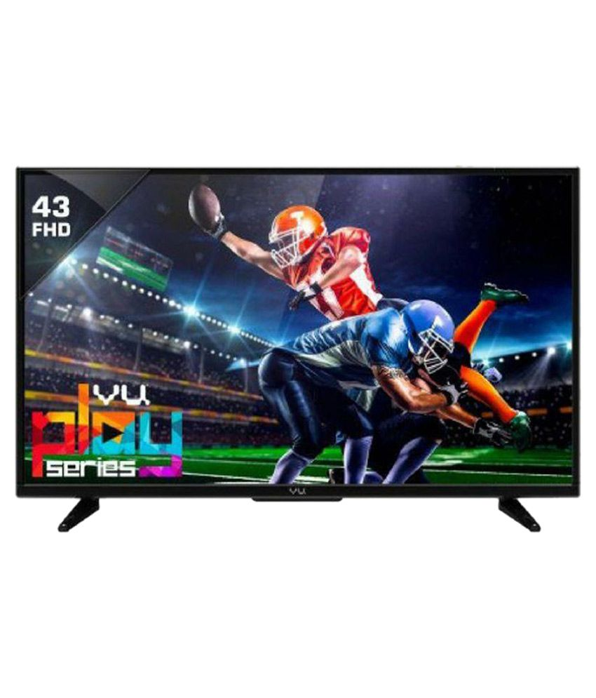 Vu 43D1510 109 cm ( 43 ) Full HD (FHD) LED Television With 1+2 Year Extended Warranty