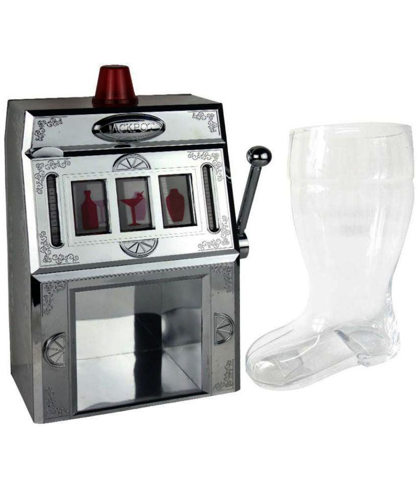 Barraid Casino Liquor Dispenser and Beer Boot Glass Combo