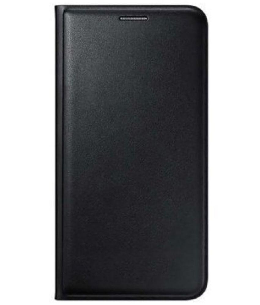 Gionee P5 Mini Flip Cover by Trap - Black