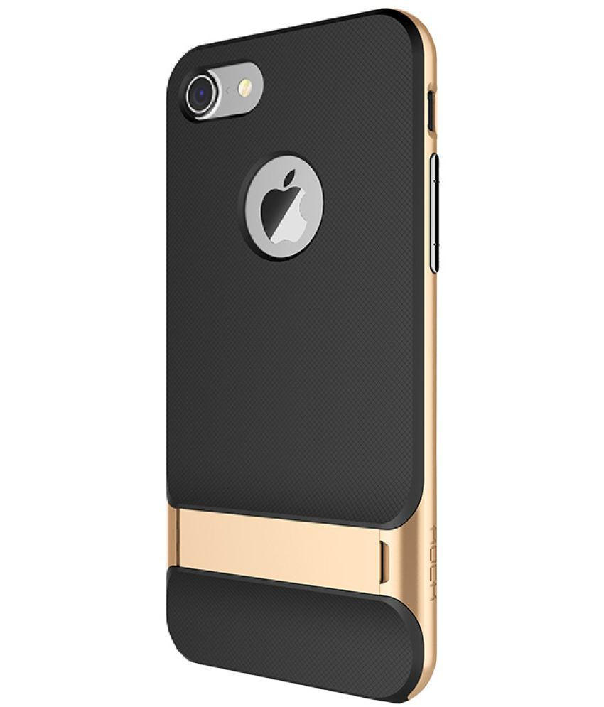 Apple iPhone 7 Cases with Stands Rock - Golden - Plain Back Covers Online  at Low Prices  f510646fc
