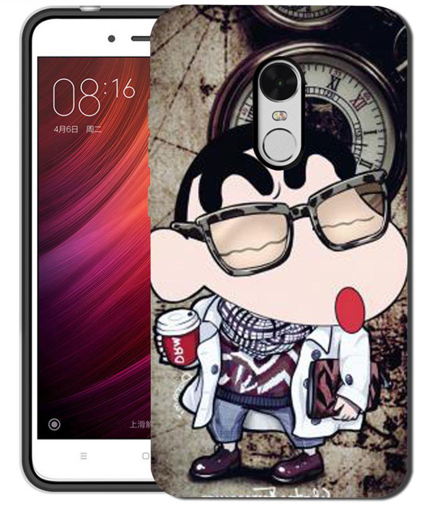 best service f66a5 cb89c Xiaomi Redmi Note 4 3D Back Covers By Silver Ink