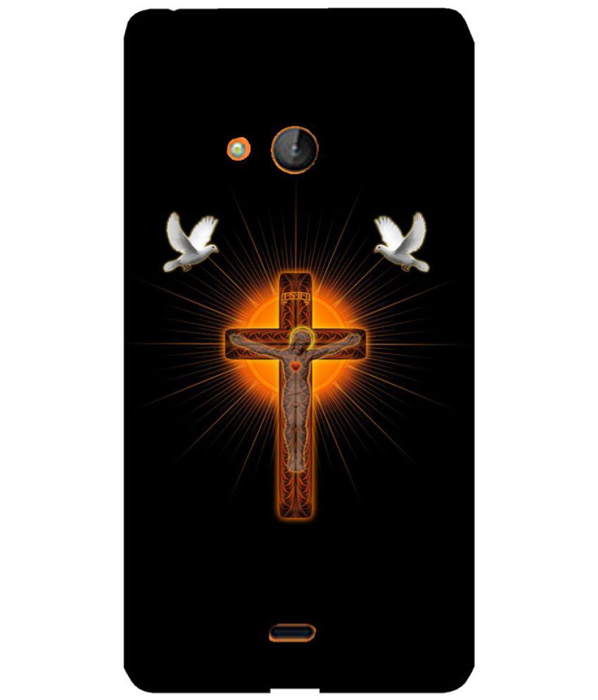 Microsoft Lumia 540 Printed Cover By Skintice