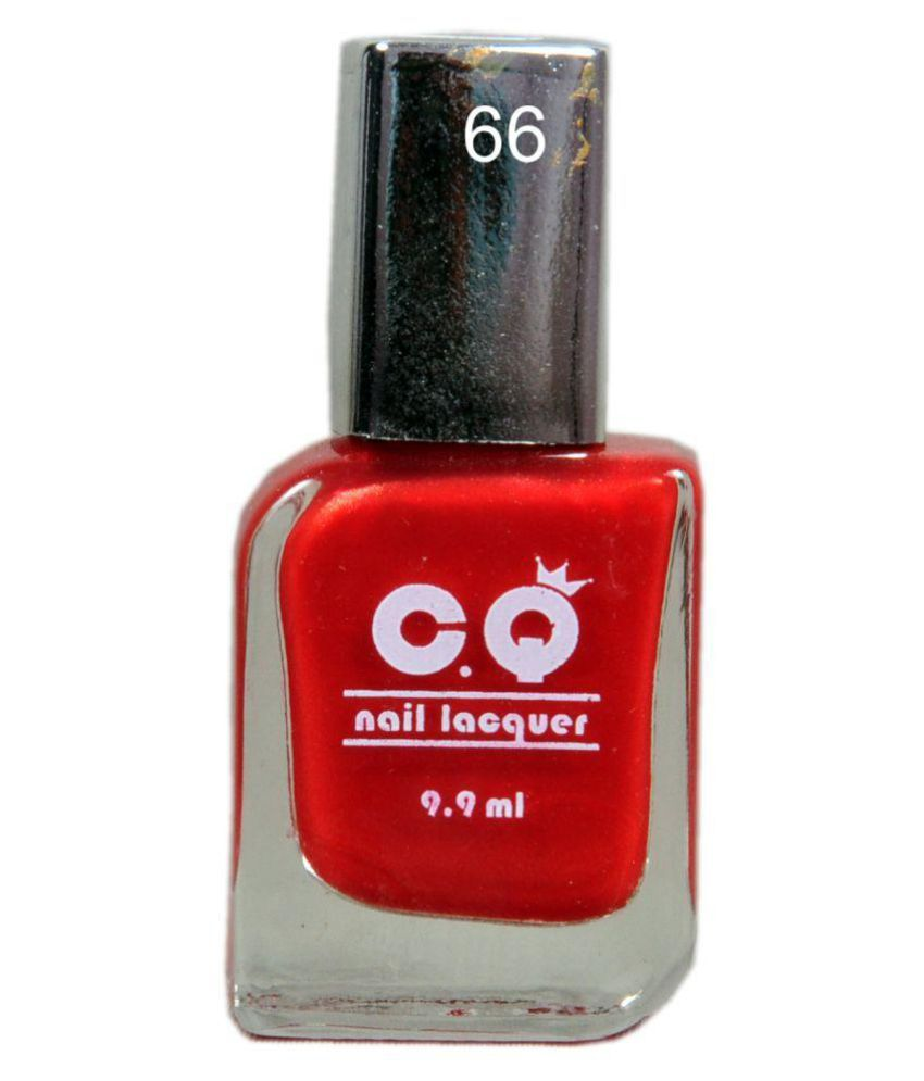 C.Q Nail Polish 66 Blood Red Matte 9.9 ml: Buy C.Q Nail Polish 66 ...