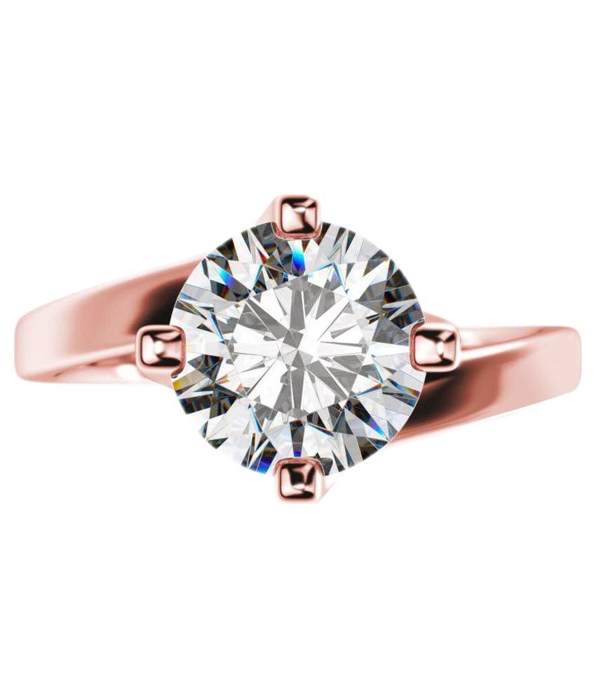 Sheetal Diamonds 18k Rose Gold Ring