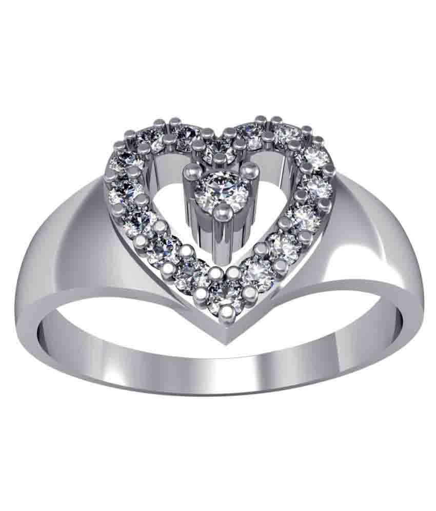 Suvarnadeep 92.5 Silver Ring