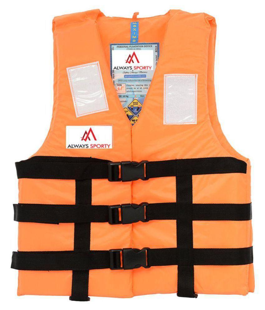 Always Sporty Orange Life Jacket