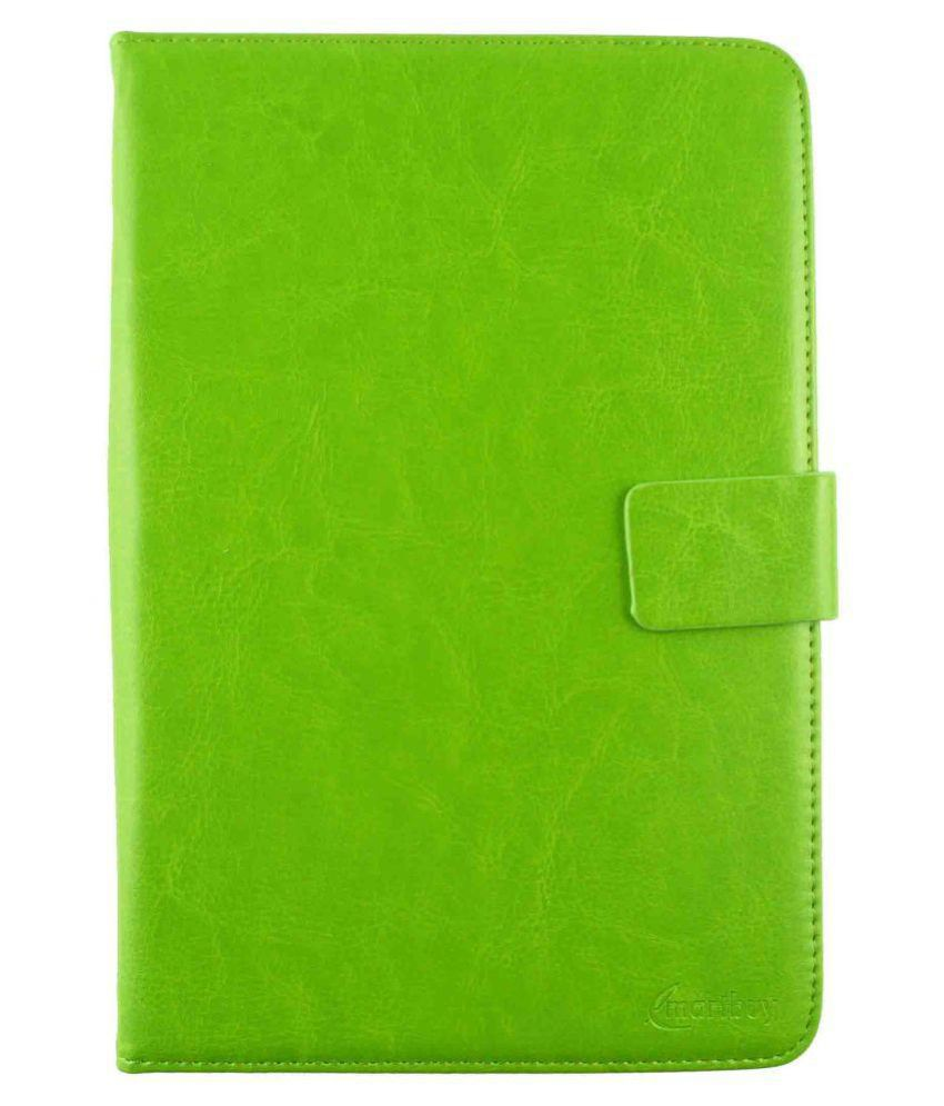Iball 3G Q7218 Flip Cover By Emartbuy Green