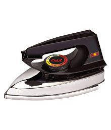 Elvin Supreme Heavy Weight Electric 750 W Dry Iron Black
