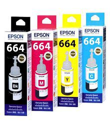 Epson Multicolor Ink Pack of 4