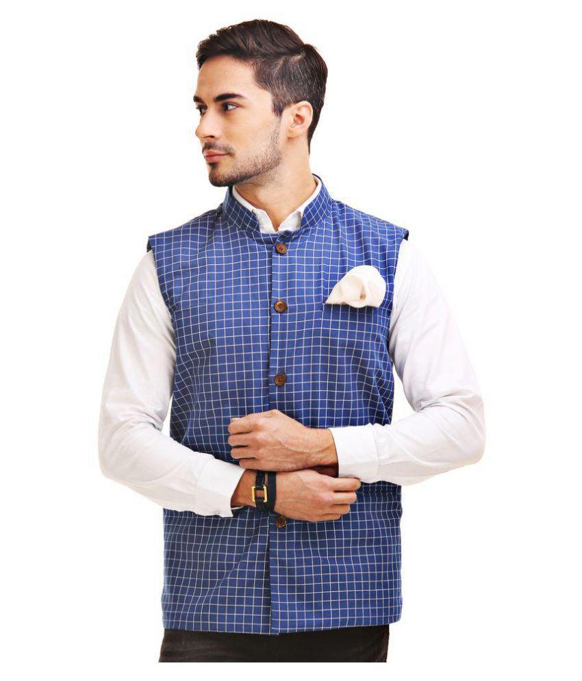 Chokore Multi Cotton Nehru Jacket