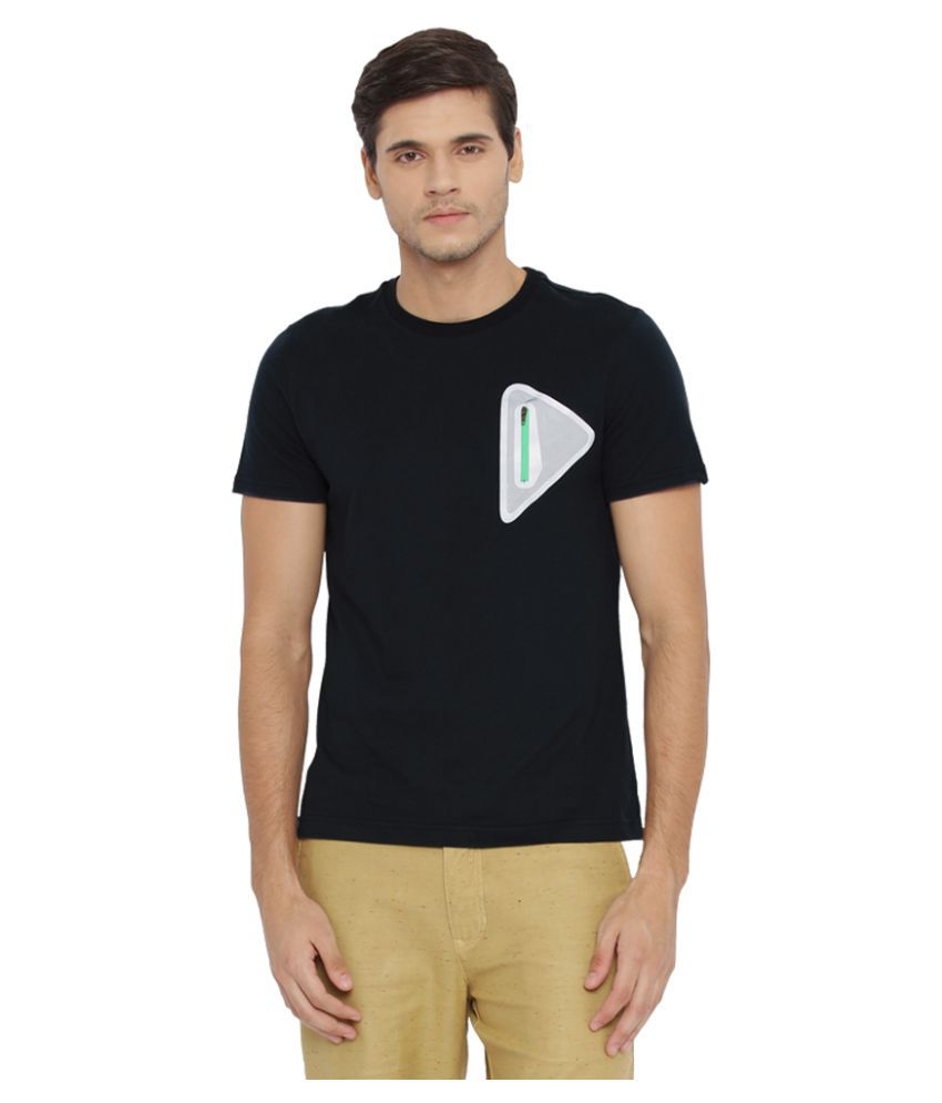 6f4d13754602a Parx Navy Round T Shirt available at SnapDeal for Rs.1199