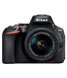 Nikon D5600 24.2 MP DSLR (with AF-P 18-55mm VR Kit Lens)
