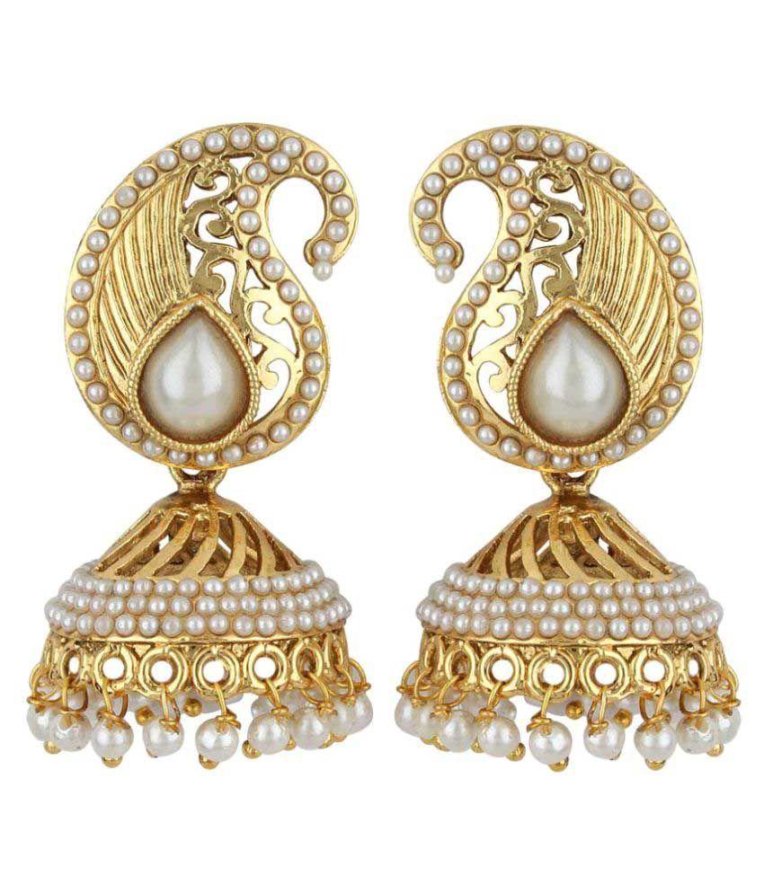 Jewels Capital Multicolour Earrings