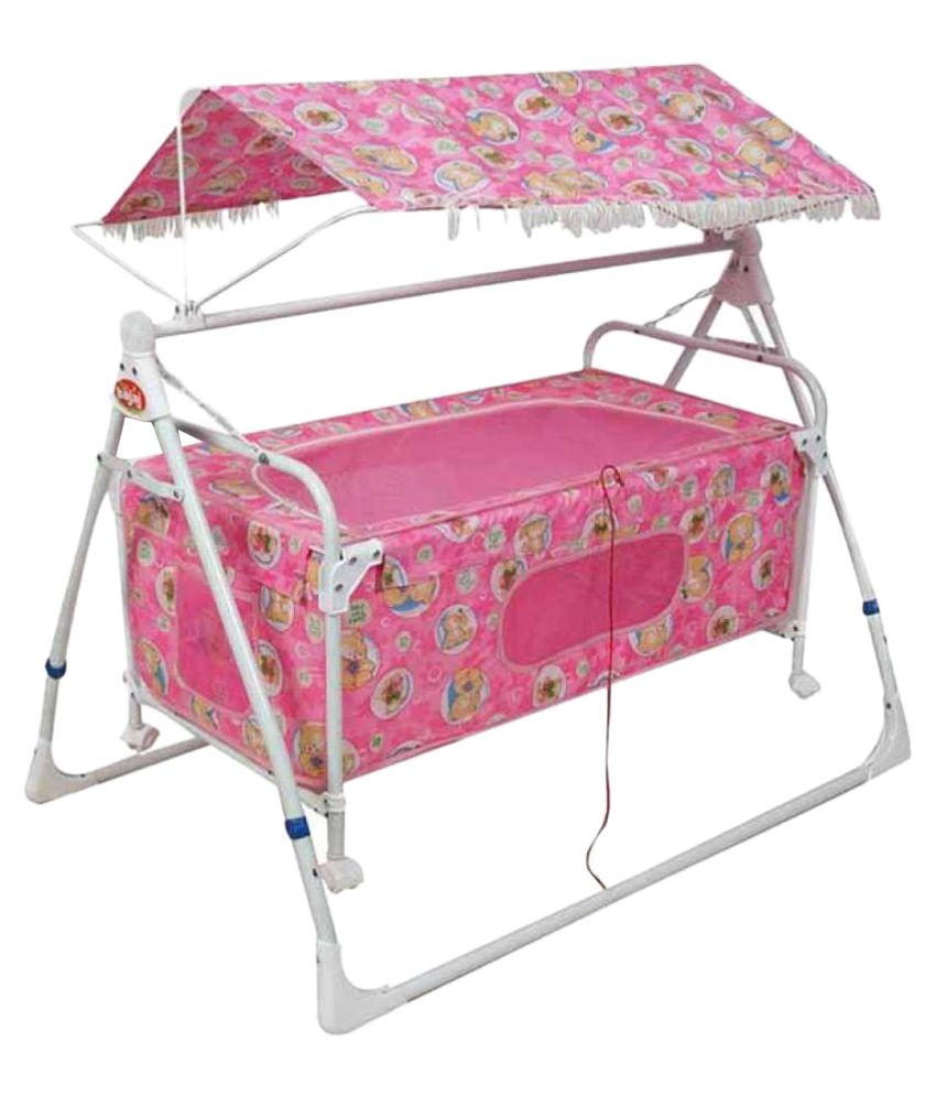 Variety Gift Centre Baby Cradle - Pink
