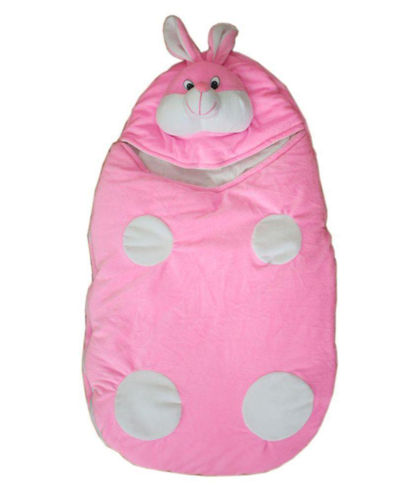 Amardeep Pink Polyester Sleeping Bags ( 72 cm × 40 cm)