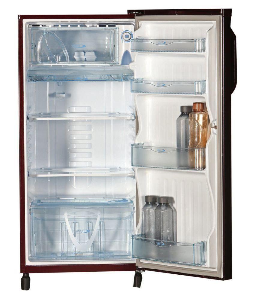 Kelvinator 190 Ltr 3 Star 203ptqr Single Door Refrigerator Maroon Gulmohar