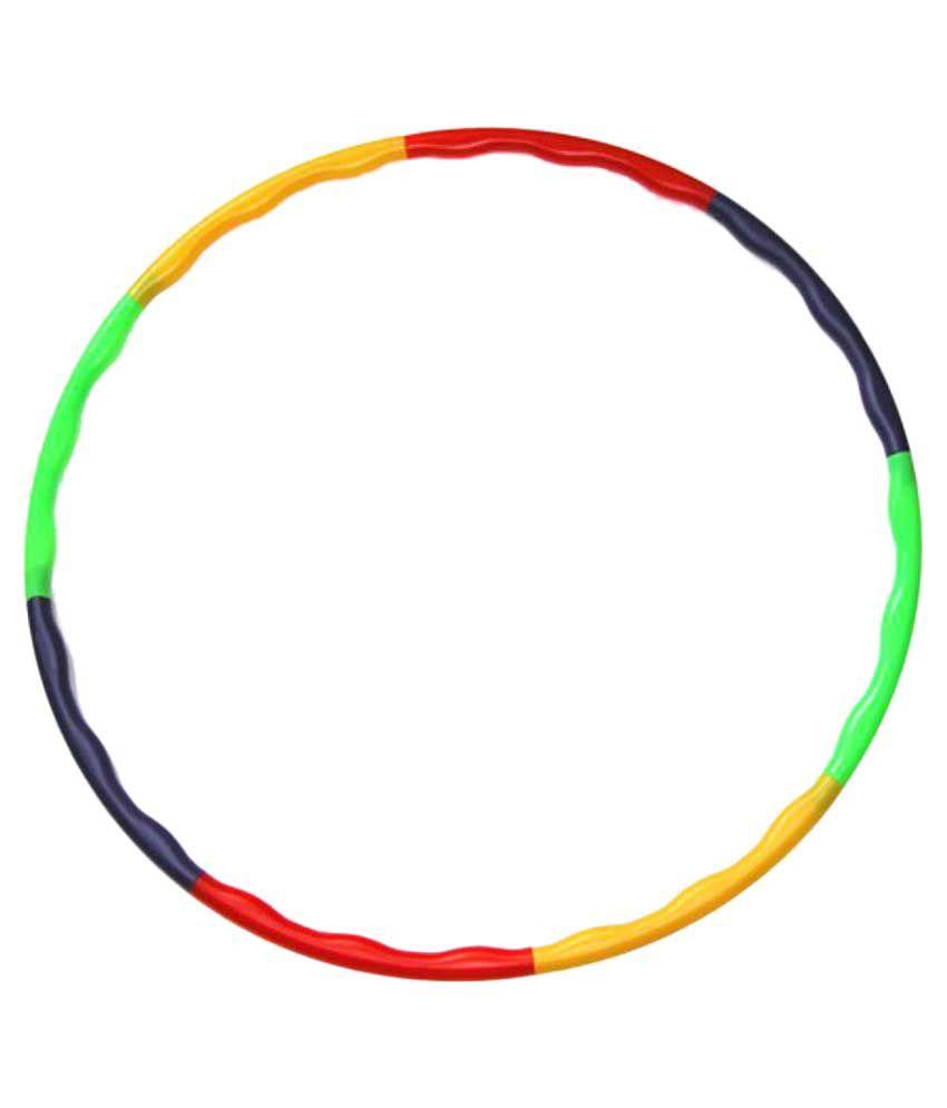 Once More Enterprise Multicolor Hula Hoop - Pack of 8