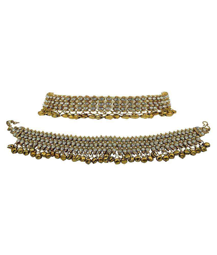 Jewels Gehna Multicolor Anklet