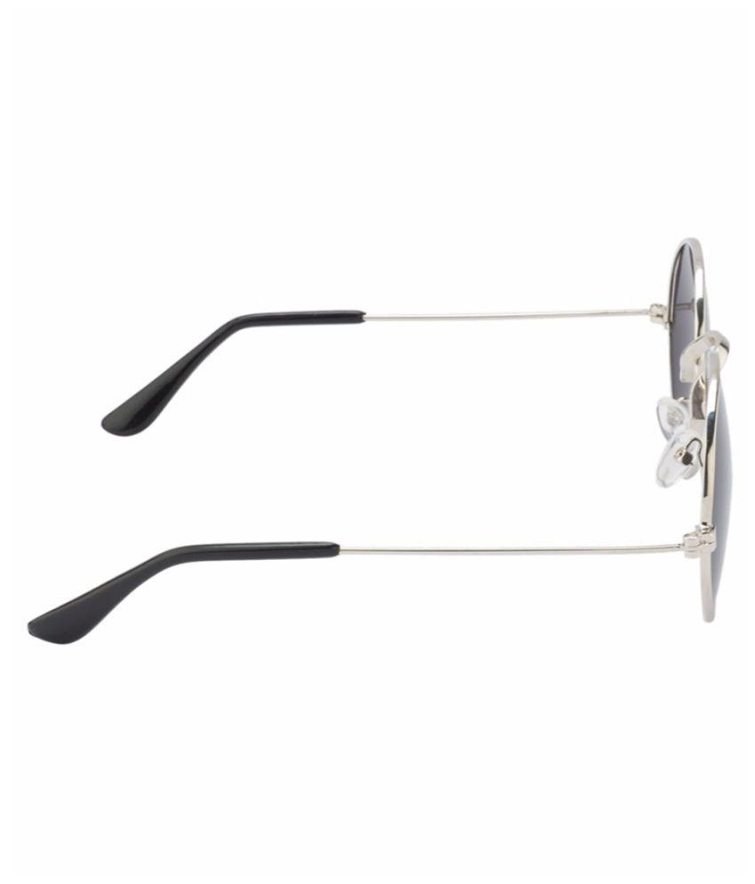 286a0dffd2 HH Black Round Sunglasses - Buy HH Black Round Sunglasses Online at ...
