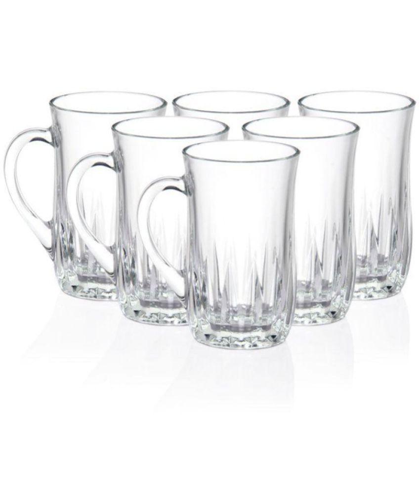 Luminarc Glass Coffee Mug 6 Pcs 220 ml