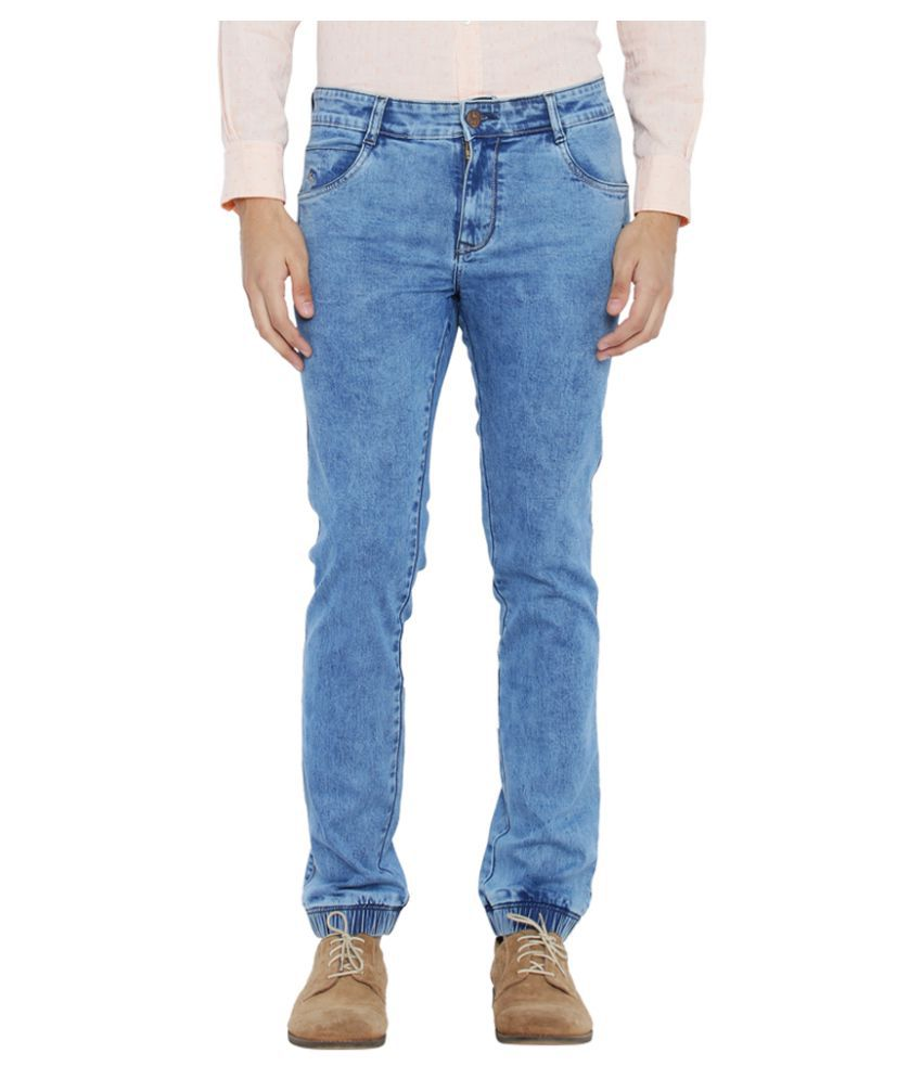 Parx Blue Regular Fit Jeans