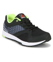Reebok TRAIN Black Running Shoes