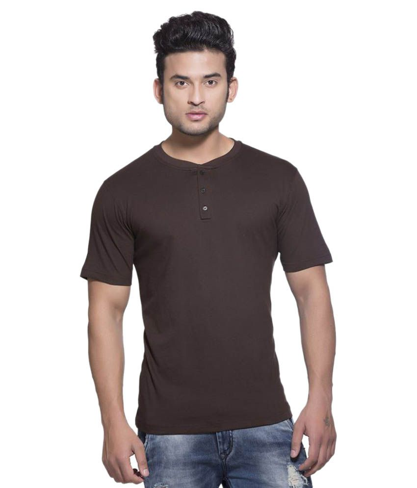 Clifton Brown Henley T-Shirt