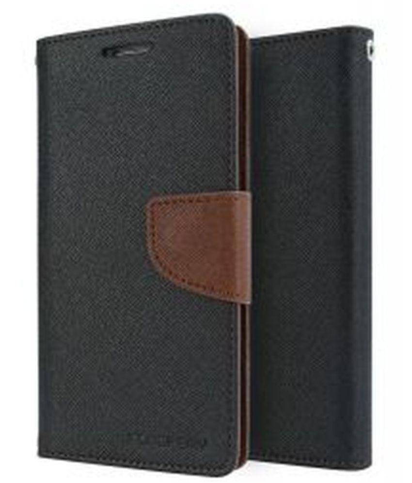 Samsung Galaxy J7 Flip Cover by MOXERO - Brown