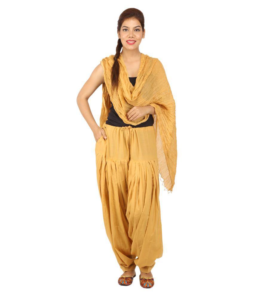 Chinmaya Cotton Single Patiala With Dupatta