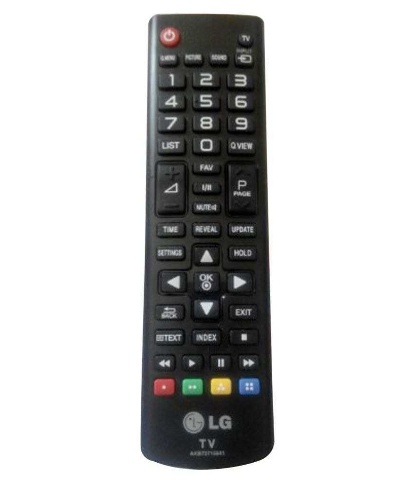 Buy Lg 74475421 Tv Remote Compatible With Lg Led  Lcd Tv