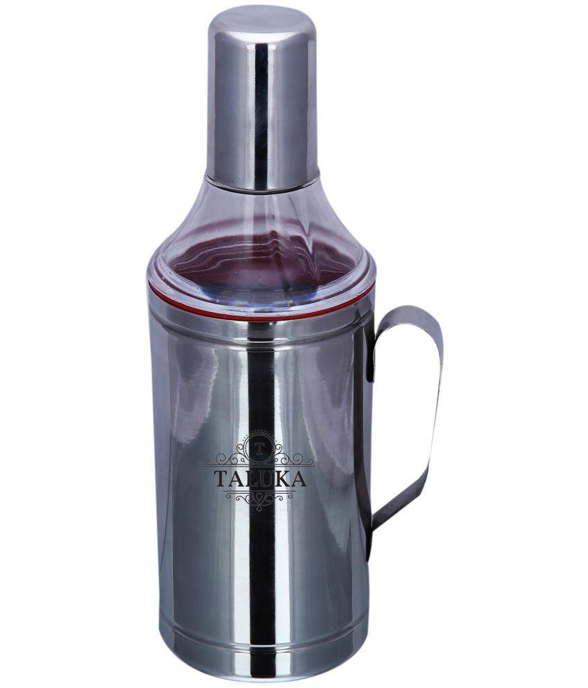 Taluka Steel Oil Container/Dispenser,oil pourer,oil bottle,oil can Set of 1-750 ml
