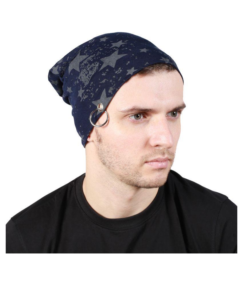 Noise Blue Cotton Caps
