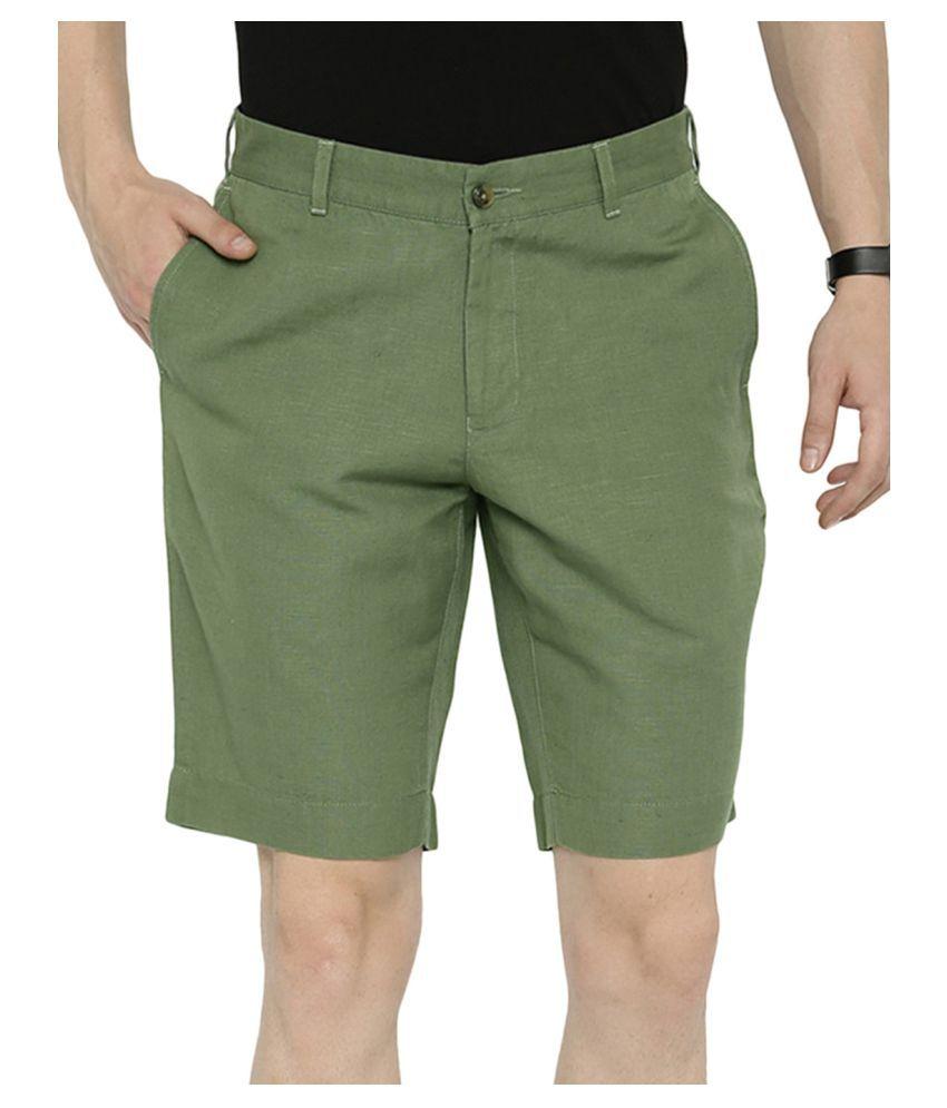 BLACKBERRYS Green Shorts