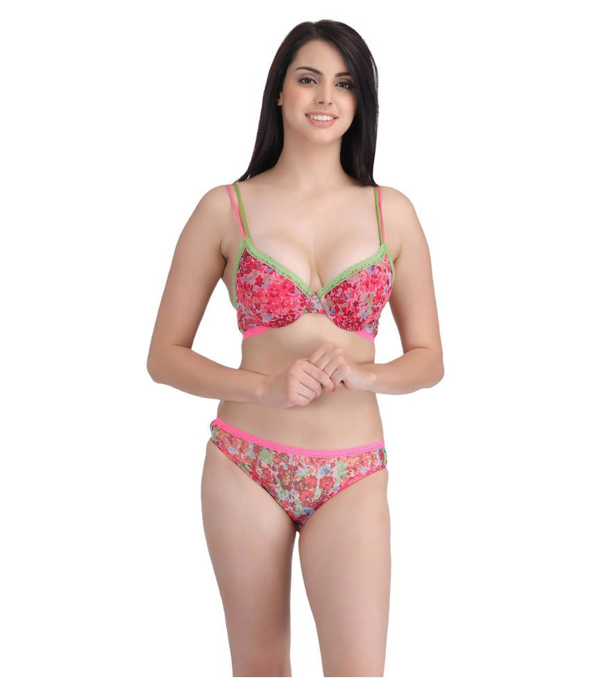 320b0e5263bbf Buy Clovia Net Mesh Push Up Bra Online at Best Prices in India - Snapdeal