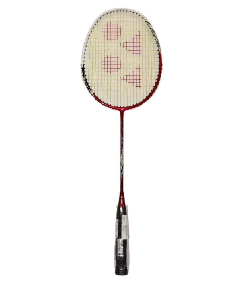 Yonex Arcsaber 200 Taufik Badminton Racket RED: Buy Online ...