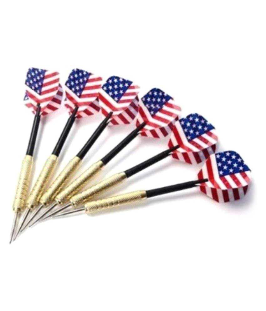 Credence Multicolor Metal Dart - Pack of 6
